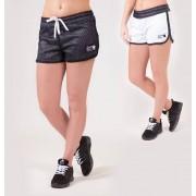 Gorilla Wear Madison Reversible Shorts - Zwart/Wit - M