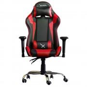 Silla Gamer Stylos XZEAL ZXSXZ10R Color Rojo/ Negro, Acero, Pvc Alto Desempeño