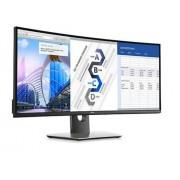 """Dell U3417W, 34"""" Curved LED IPS Anti-Glare, UltraSharp, Height Adjustable, Tilt, Swivel, Black"""