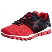 Sparx Men's Black and Red Running Shoes - 8 UK/India (42 EU) (SX0194G)