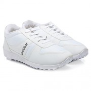 Unistar Jogging, Walking & Running (Narrow Toe) Shoes; 602-White
