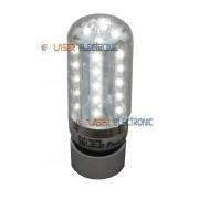 Lampadina a Led SMD 3014 Bianco Puro Freddo Attacco E14 Alta Luminosità 6 Watt