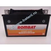 Baterie moto, scuter, atv Rombat 12V 6Ah 60A, AGM Gel RBX7A-BS