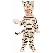 Forum Novelties Plush White Tiger Child Costume, Small