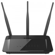 Router 4 port-uri wireless. AC750, Dual-Band, Fast Ethernet, D-Link (DIR-809)