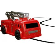 Magic Inductive Truck [Follows Black Line] Magic Toy Car for Kids & Children - Best Toddler Toys MINI Magic Pen Inductive Fangle Kids Fire Truck Follow [Red Fire Truck] by Nylea