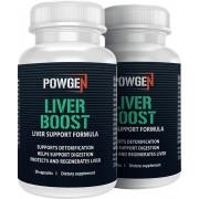 PowGen Liver Boost - 1+1 GRATIS - para purificar el hígado y bajar de peso.