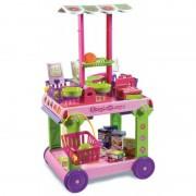 Set supermarket cu cosulet Androni Giocatolli, multicolor