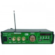 Amplificator audio stereo Teli BT-680 cu 2 canale si cititor de card USB ,SD Card