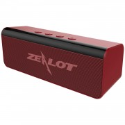 ZEALOT S31 Bluetooth 5.0 Wireless Speaker for Outdoor and Home - Red