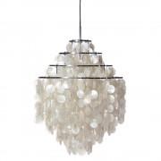 Verner Panton hanglamp Shell style lamp parelmoer