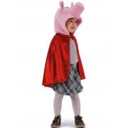 Vegaoo.es Capa de cerdito rojo niño