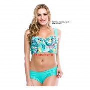 Bikini 1 Pieza Mod B55 Menta