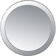 Oglinda decorativa moderna cu cristale K9 si LED, diam.80cm Marilyn 1 67037-44 GL
