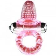 Sweet abs 10 ritmos ring anillo pene vibrador rosa