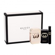 Gucci Gucci Guilty confezione regalo Eau de Toilette 75 ml + lozione per il corpo 100 ml + Eau de Toilette 7,4 ml Donna
