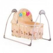 Електрическа бебешка люлка Cangaroo Accent, бежова, 3563298
