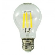 Bec LED - KODAK - Filament lung A60 E27 6 W - Lumina calda