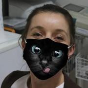 MAČKA - Rúško (Maska) 3D ochranné na tvár