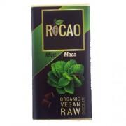 Ciocolata cu Menta si Maca Raw Bio 27gr Rocao