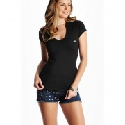 GUESS Marie Tee jet black