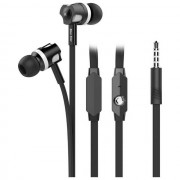 Blue Star Auricolare Originale Stereo In-Ear Jm-26 Jack 3,5mm Black Per Modelli A Marchio Asus