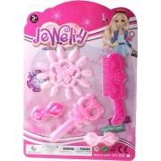 Lg-imports Beautyset Jewelry Meisjes Roze 5-delig