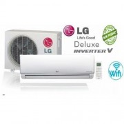 LG DM12RP Deluxe Smart inverteres oldalfali klíma 3.5 KW