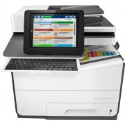 HP PageWide Enterprise Color Flow MFP 586z - All-in-One Printer