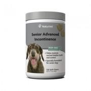 NaturVet Senior Advanced Incontinence Soft Chews Dog Supplement, 120 count