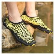 Zapatos Acuáticos Para Snorkel /natación /playa Unisexo -Amarillo