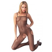 Mandy Mystery Catsuit with Lateral Peepholes - Medium-Large