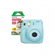 Pack de Instax Mini 9 Celeste + 20 Films