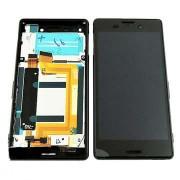 Дисплей + Tъч скрийн + Рамка за Sony Xperia M4 Aqua Черен