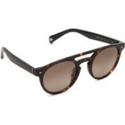 Fossil Round Sunglasses(Brown)