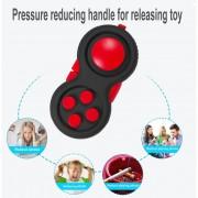 EB Vástago De Mano Universal Pad Spinner TDAH Autismo Ansiedad Alivia El Estrés Toy - Rojo