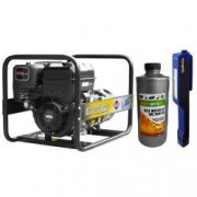 Generator curent AGT 7501 BSB SE 6.4 kVA motor 14 CP monofazat fara perii + Cadou Lanterna LED magnetica AgroPro