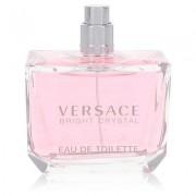 Bright Crystal For Women By Versace Eau De Toilette Spray (tester) 3 Oz