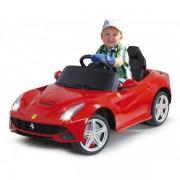 Masinuta electrica Ferrari F12 Berlinetta rosie 9V cu telecomanda