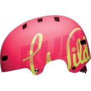 Bell Span Skateboardhelm, Matte Flamingo S