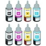 green epson l100/l200/l210/l360 compatible ink 2 sets of each color