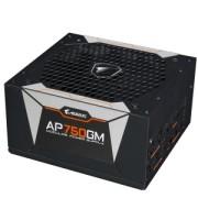Sursa Gigabyte AORUS P750W 80+ GOLD Modulara, Certificare 80+ Gold, Condensatori japonezi, Ventilator 135mm Smart, Active PFC, OVP/OPP/SCP/UVP/OCP/OTP