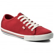 Гуменки HELLY HANSEN - Fjord Canvas 107-72.110 Flag Red/Off White/Navy