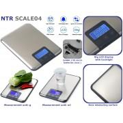 NTR SCALE04 Digitális levél és csomag mérleg 1g pontossággal és 15kg méréshatárral