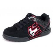 boty dětské ETNIES - Kids Metal Mulisha Charter - BLACK-BLACK-RED