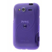 HTC Wildfire S Wave Case - HTC Soft Cover (Purple)