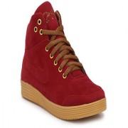 BB LAA 925 Men's Maroon color Sneakers boots