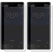 Mobik Tempered Glass for Nokia 3 - Pack of 2