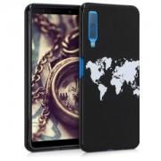 kwmobile Pouzdro pro Samsung Galaxy A7 (2018) - bílá