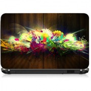 VI Collections Colorful Lights Printed Vinyl Laptop Decal 15.5
